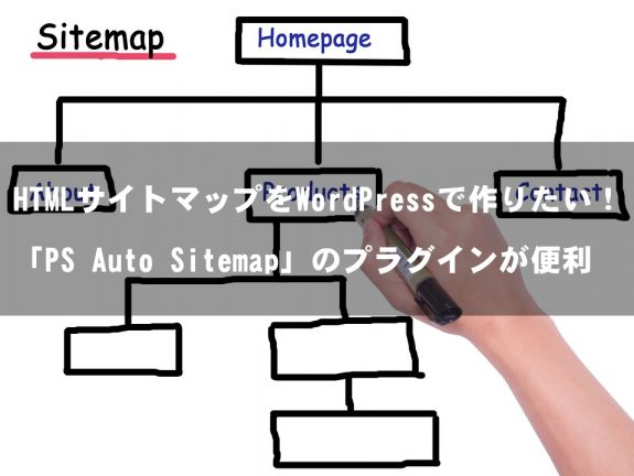 HTMLサイトマップをWordPressで簡単に作るPS Auto Sitemapがスゴい!